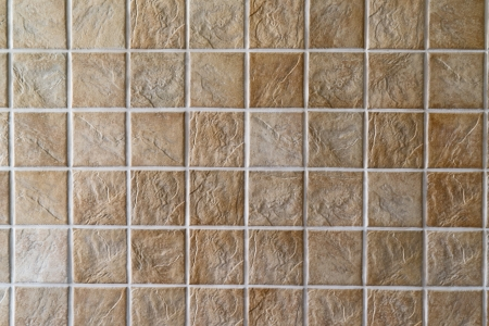 tile flooring: Ceramic tiles. Beige mosaic ceramic tiles for wall or floor.