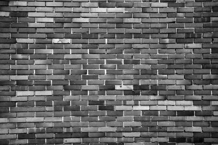 Brick wall texture as urban background photo