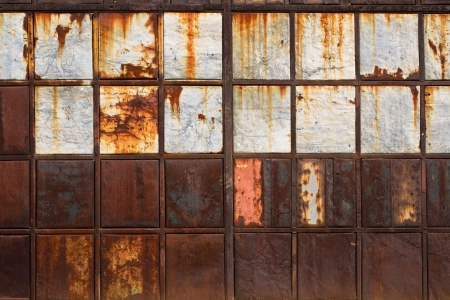 corroded: Rusty metal texture, corroded metal plates as abstract background image