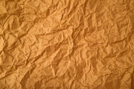 crumpled paper texture: Crumpled paper texture  Old recycled paper background