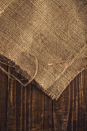 Jute canvas texture, natural potato sack texture. photo