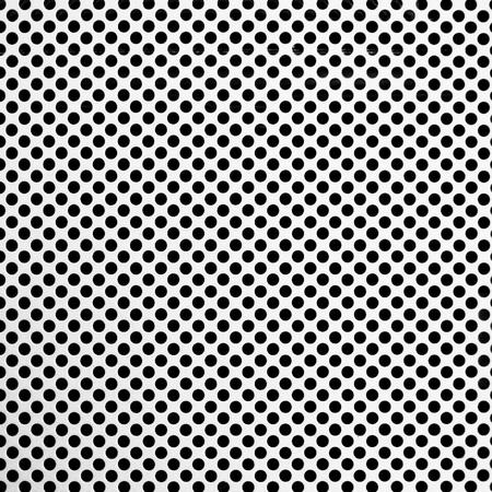 metal grid: Metal grid with round holes