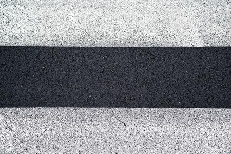 pedestrian crossing: Pedestrian crossing, zebra traffic walk way on asphalt road