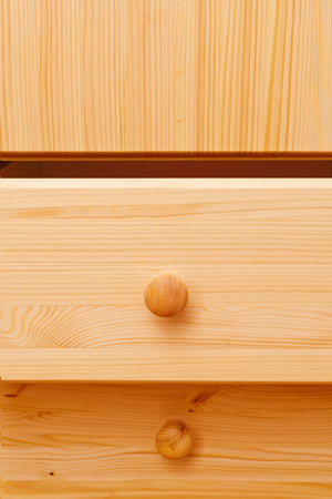 Wooden cabinet drawers with detailed natural wood texture  Home furnishing Stock Photo - 24740084