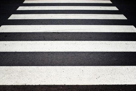 zebra crossing: Zebra pedestrian crossing