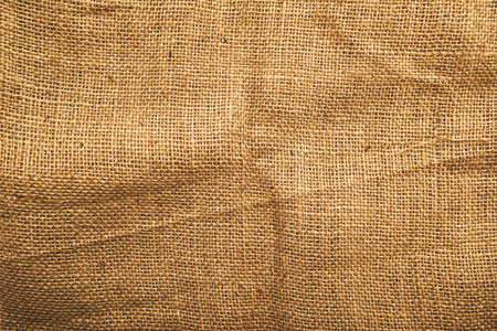 Jute canvas texture, natural potato sack texture.