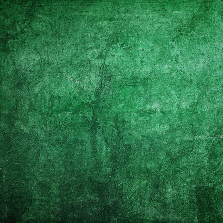 rasa: Green classroom chalkboard texture as background with copy space Stock Photo