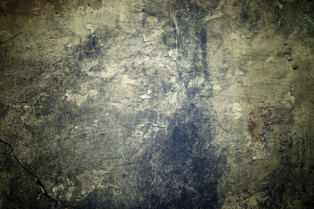 gritty: Grungy concrete wall as urban texture background for your design