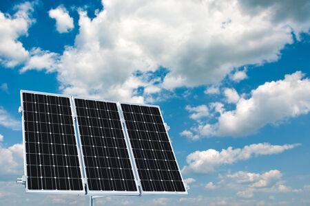 housebuilding: Home power plant using renewable solar energy