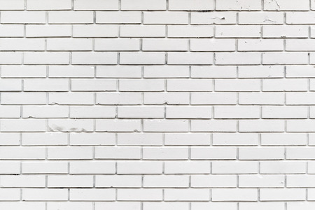 redecoration: White Brickwork Wall Pattern Texture as Urban or Construction Industry Background Stock Photo