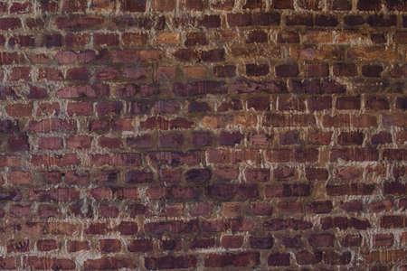 paredes de ladrillos: Patrón de ladrillo Vieja textura Foto de archivo