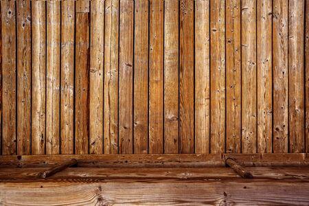 madera rústica: Rústica de madera Backgorund 3d, tablón de madera Textura de la tarjeta en perspectiva como fondo para la colocación del producto