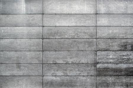 Betonnen Muur Met Rechthoekige Gevormde Grijze Blokken, Stedelijke Achtergrond, Straat Texturen
