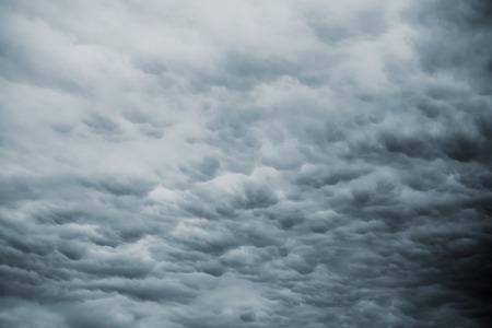 dark skies: Dark Storm Sky with Rainy Clouds As Autumn Bad Weather Forecast