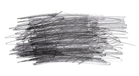 grafit: Grafitowy ołówek doodle bazgroły odizolowane na białym