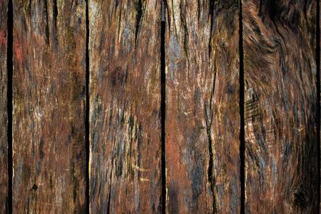 madera rústica: Rústico textura de la superficie de madera, viejos tablones de madera como fondo