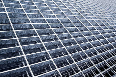 industrial industry: Construction Industry Reinforcement Metal Grid Plates as Industrial Background
