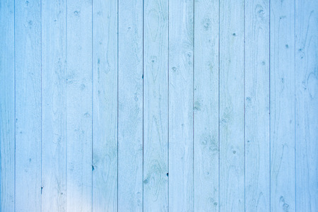 Pale blue wood plank surface texture, wooden board copy space