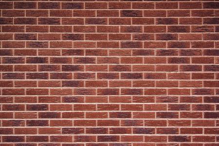 paredes de ladrillos: Expuesto textura de la pared de ladrillo rojo de la vendimia, patrón de ladrillo como fondo