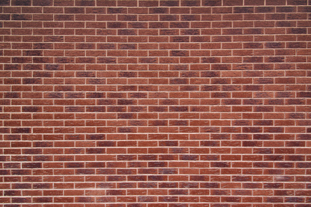brick texture: Exposed red vintage brick wall texture, brickwork pattern as background Stock Photo