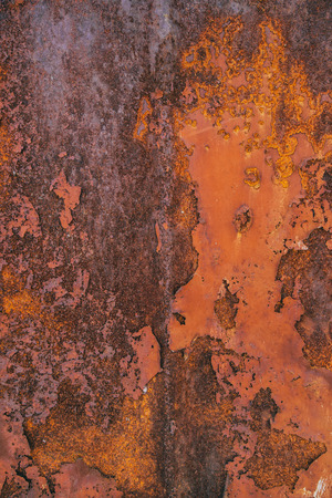 steel texture: Corroded steel iron plate texture, oxidized red metallic surface
