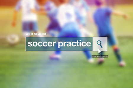 thesaurus: Web search bar glossary term - soccer practice definition in internet glossary.