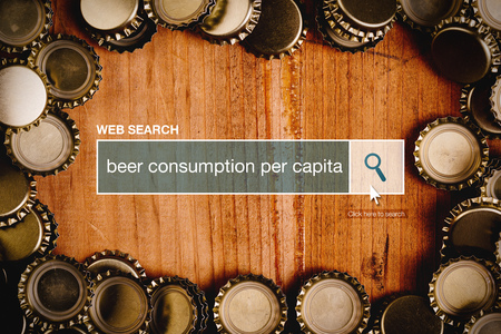 thesaurus: Beer consumption per capita definition in internet glossary - web search bar glossary term