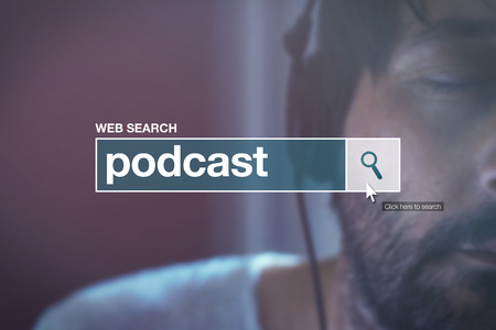glossary: Podcast - web search bar glossary term for definition in internet glossary.
