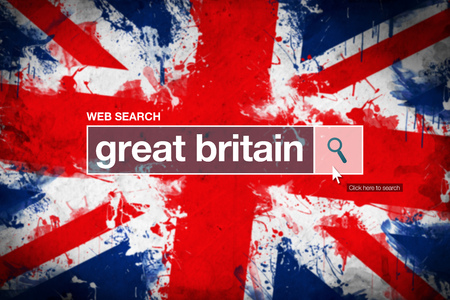 glossary: Great Britain - web search bar glossary term on internet