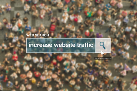 thesaurus: Increase website traffic web search bar glossary term on internet