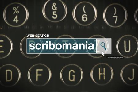 glossary: Scribomania web search bar glossary term on internet
