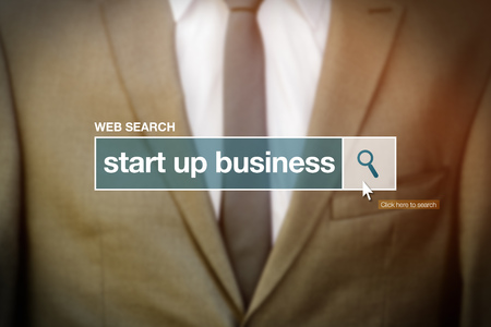 glossary: Start up business web search bar glossary term on internet