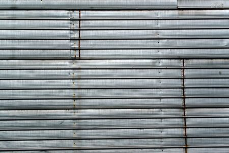 obsolete: Old zinc plated metal texture, obsolete industrial metallic surface