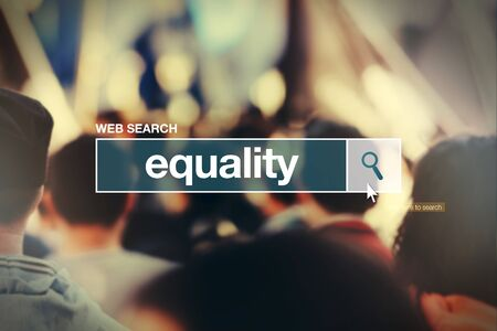 thesaurus: Equality - web search bar glossary term  in internet glossary.