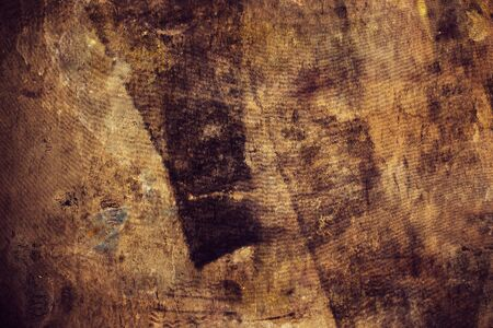 footmark: Dirty stained grunge background, retro toned rubber texture Stock Photo
