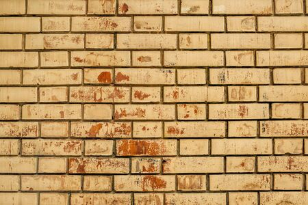 urban decay: Weathered brick wall texture, urban decay background