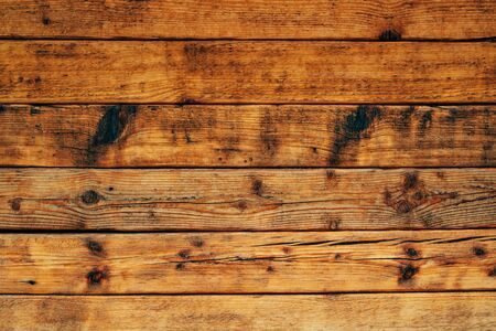 Rustic wooden planks texture as natural background Stock Photo