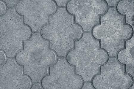 pavers: Decorative concrete slabs pavers texture, top view