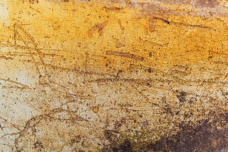 scratches: Obsolete grunge surface texture with scratches and stains