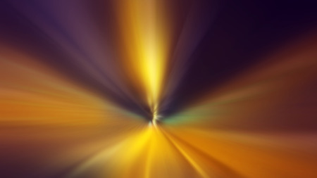 time travel: Time travel concept, fast speed motion through the tunnel with zoom effect as abstract background