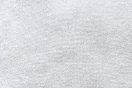 White bathroom towel texture close up as background 版權商用圖片 - 65447871