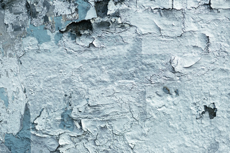 urban decay: Grunge wall surface with paint peeling off, urban decay texture Stock Photo
