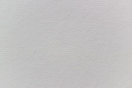 White artificial leather texture as abstract background Stock Photo - 86469253