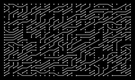 Circuit board as high tech minimalistic background, abstract illustration