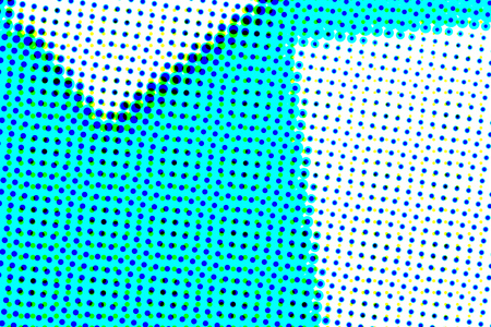 Abstract artistic halftone pattern illustration as grunge art background Stock Photo