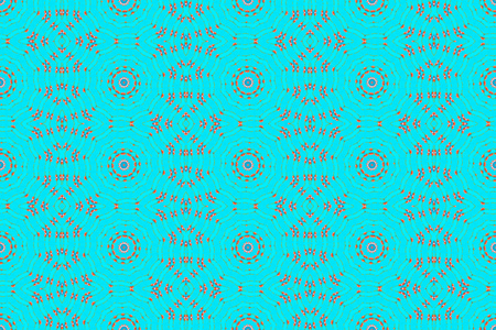 Seamless pattern background, repeating abstract kaleidoscope shape symmetrical backdrop for graphic design