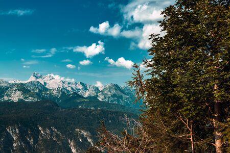 Mount Triglav, highest mountain in Slovenia, part of European Alps