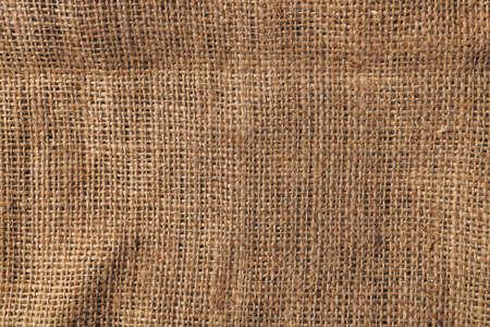 Hessian sack material texture, burlap cloth background