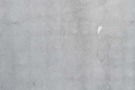 Concrete wall surface as background, gray cement facade texture Banque d'images