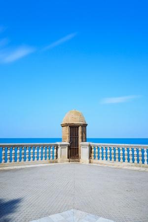 cadiz: Cadiz watch turret. Andalusia, Spain